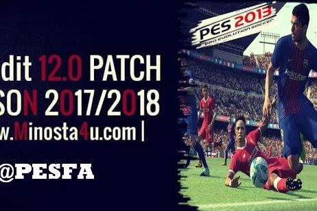 PES-2013-PESEdit-12.0-Patch-2017-2018