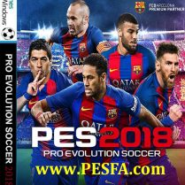 فروش پستی بازی PES 2018 همراه با کرک CPY برای PC